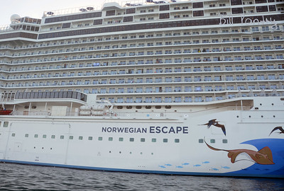 """Norwegian Escape"", DockYard, Bermuda"