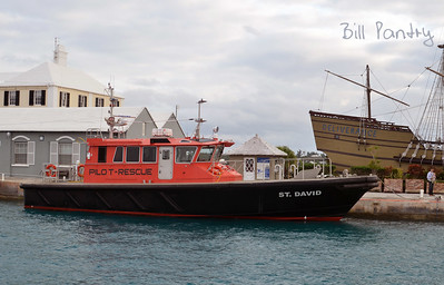 Pilot boat, Ordinance Island, St. Georges, Bermuda