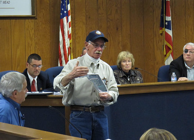 Mayor Bulan organized a meeting for Vermilion River's issues. April 17, 2013