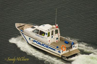 Halifax Regional Police patrol boat Garrett Cotter.
