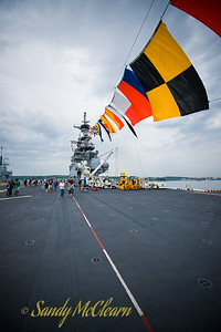 USS WASP's flight deck.