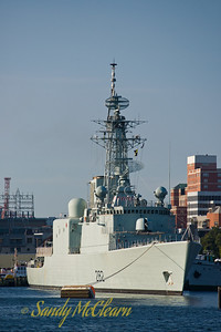 HMCS ATHABASKAN on the Halifax waterfront.