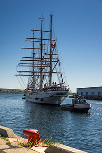 Portuguese Navy sail training vessel SAGRES II.