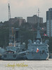 HMS MONMOUTH and FS LANGUEDOC.