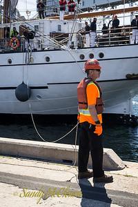 Portuguese Navy sail training vessel SAGRES II.