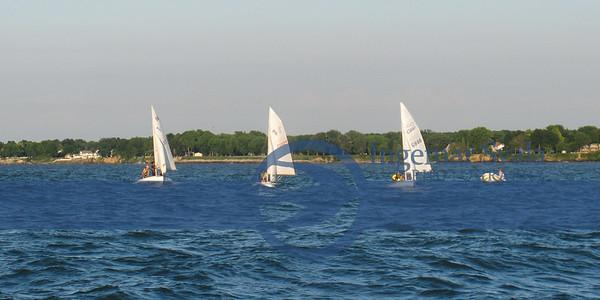July 2014. Sail Camp. A good sail day.