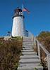Burnt Island Light in Boothbay Harbor, Maine