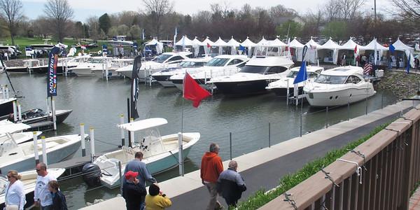 May 3 & 4, 2014, Boat Show at Catawba Island, Ohio