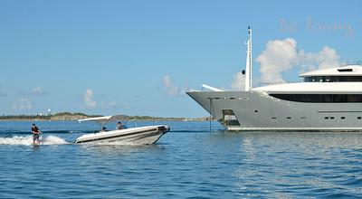 Megayacht Constance, Castle Harbour, Bermuda