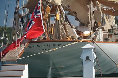America's Cup Finals. Caroline Bay Marina, Morgan's Point, Bermuda