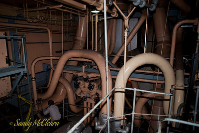 The engine room of the S.S. Jeremiah O'Brien.