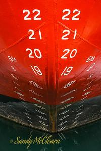 Icebreaker bow (Polar Prince).