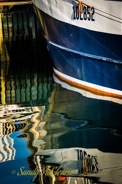 """Herring fleet fishing boat """"Morning Star""""."""
