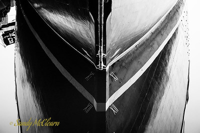 Bluenose II reflections.