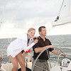 "Anna and her Dad, Rudy, my ""ringer"" sailing buddy on Aquavit the last four years."