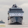 HMCS HALIFAX (FFH 330), Celebrity Summit, and Western Patriot.