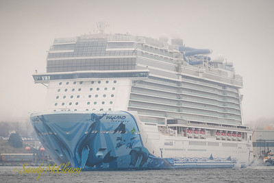 Norwegian Bliss on her maiden voyage and first visit to Halifax.