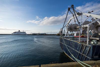 CTMA ferry Madeleine departing Cap-aux-Meules.