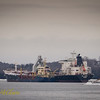 CSL Spirit receiving bunkers from Algoma Dartmouth.