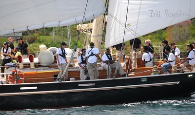 """Spirit of Bermuda"" returns home, Tall Ships 2009"