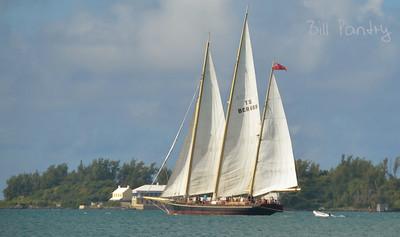"""Spirit of Bermuda"", in the Great Sound"