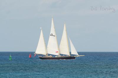 """Spirit"" heads south to drop off trans Atlantic kyaker"