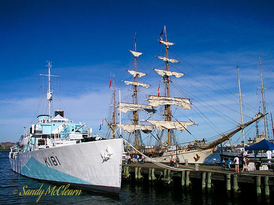 HMCS SACKVILLE and Europa