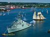 HMCS ATHABASKAN and Pride of Baltimore II