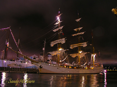 Europa at night