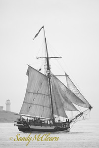 The sloop Independence.