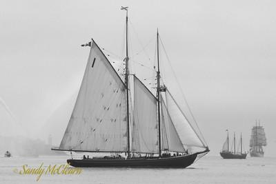 The schooner Bluenose II.