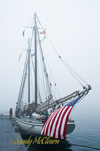The schooner Spirit of Massachusetts.