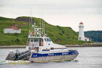 RCMP Police Boat Murray.
