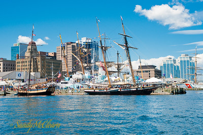 Providence and Lynx on the Halifax Waterfront.