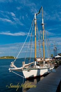 Appledore V at Tall Ships Quay.