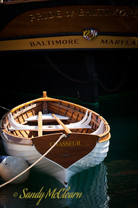 Pride of Baltimore II's dinghy, Chasseur.