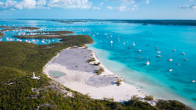 Welcome to Elizabeth Harbour, Exuma