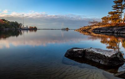 Leak Island Sunrise