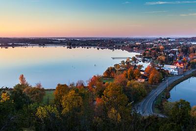 Autumn Sunrise Over Westport Ontario