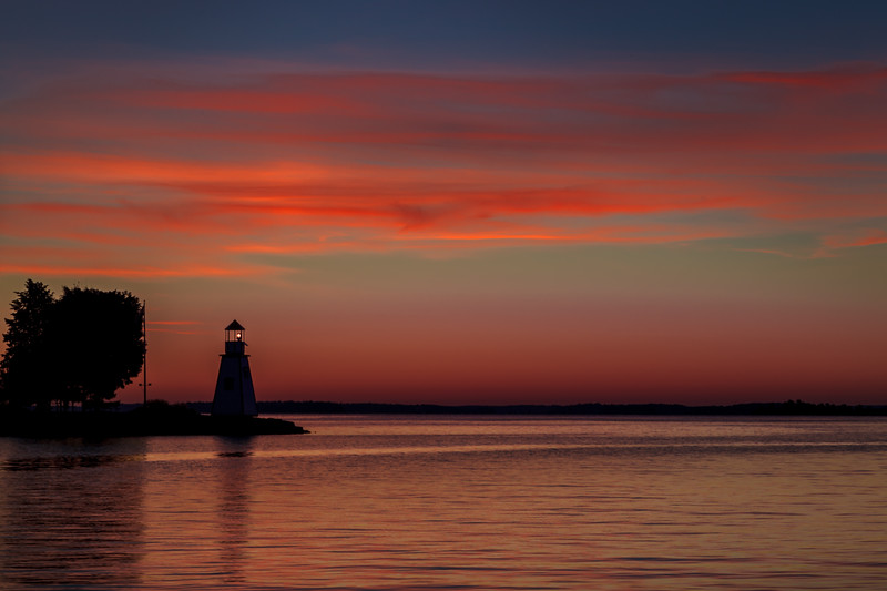 Gananoque Lighthouse Early Morning