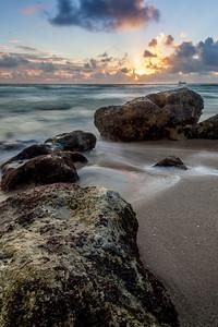 Sunrise on Fort Lauderdale Beach