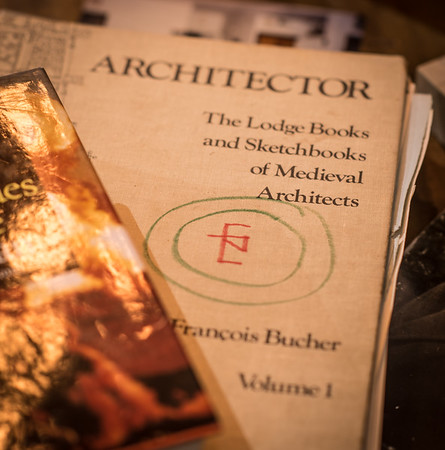 Some of Buchers Books in the Nautilus Foundation Library