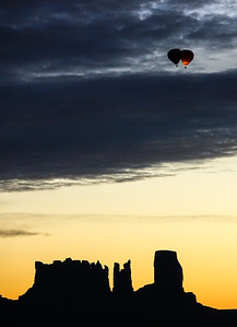 Balloons over Monument Valley 2