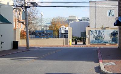 Side Street Visitor Entrance