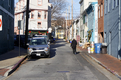 One of the streets in Historic District