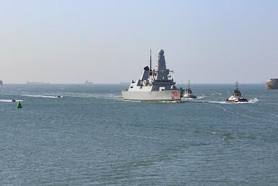 HMS Dragon (D35)