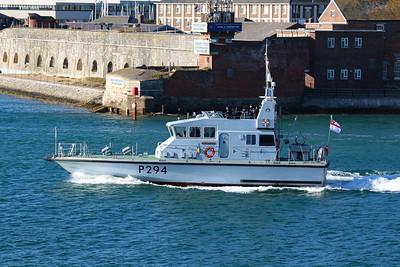 HMS Trumpeter (P294)