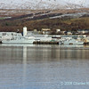 Faslane base with P283 HMS Mersey patrol vessel and unidentified minesweeper