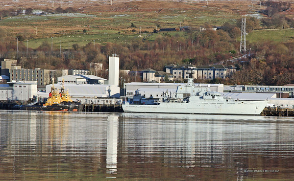 2008 Collection - Naval ships on the Clyde