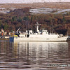 Sandown class Minesweeper M104 HMS Walney off Faslane in Gareloch